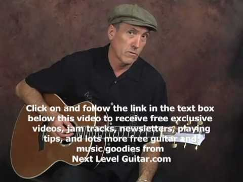 Learn to play Country rhythm beginner guitar lesson on acoustic ala Hank Williams