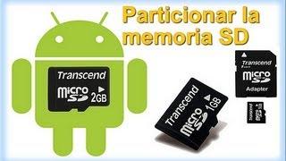 COMO PARTICIONAR UNA MEMORIA MICRO SD
