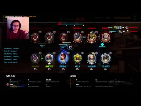 [FR/PS4/FaceCam] overwatch ranked