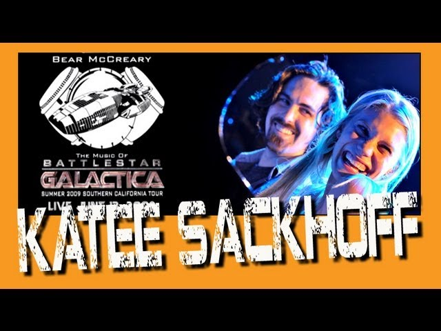"Battlestar Galactica Bear McCreary plays with Katee Sackhoff ""All Along The Watchtower"" Live"