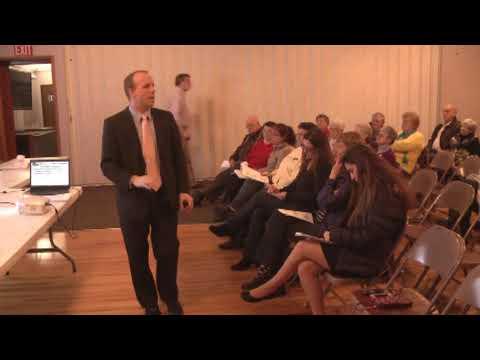 Champlain Village Dissolution Forum 3-7-13