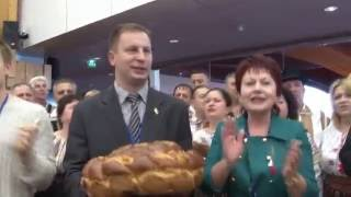 "Moldovenii au strigat ""VIVAT UCRAINA!"" la CoE"