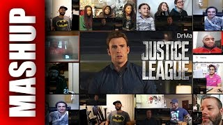 The Avengers react to JUSTICE LEAGUE Trailer Reactions Mashup