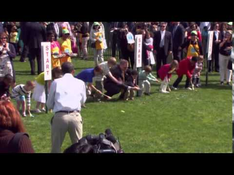 NA-12MO FILE WHITE HOUSE EASTER EGG ROLL TODAY