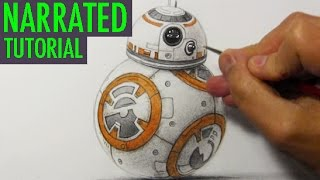 Star Wars How to Draw BB-8