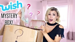 OPENING A MYSTERY BOX FROM WISH!!😱(i was shook) + GIVEAWAY!