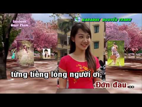 [Karaoke nhạc sống] Xin Em Đừng Khóc Vu Quy | karaoke Nguyễn Tranh & clip Gnav Pham |