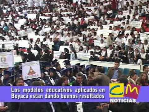 Modelos educativos aplicados en Boyacá dan buenos resultados. BOYACA COLOMBIA