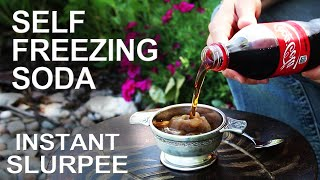 Self Freezing Coca-Cola (The trick that works on any soda!)