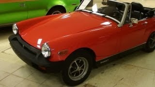 1977 MG Midget Convertible