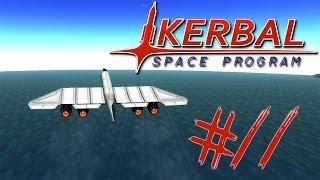 Kerbal Space Program Part 11 I MADE A PLANE!!