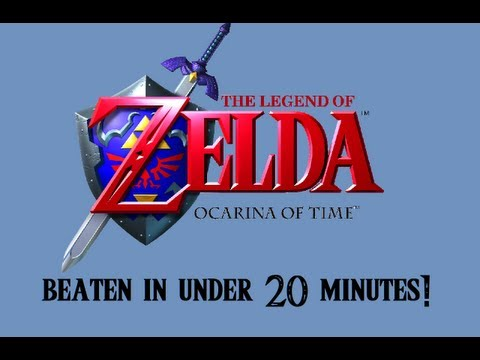 The Legend of Zelda: Ocarina of Time TAS in 19:46.22 by Swordless Link