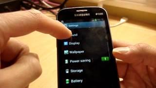 Samsung Galaxy S Duos S7562 Black Version