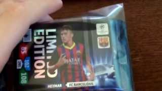NEYMAR LIMITED EDITION COMBO PACK. CHAMPIONS LEAGUE 2013