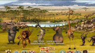 "Madagascar: Escape ""2"" Africa DVD Menu"