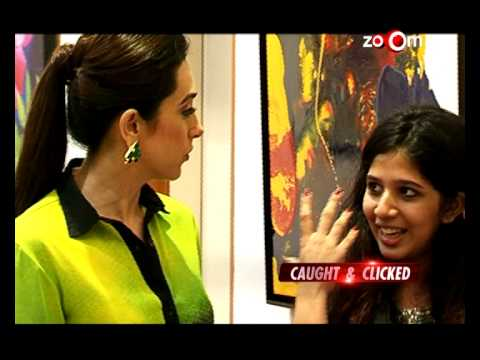 Karisma Kapoor at an art exhibition