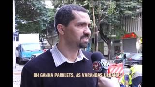 Come�a a constru��o de parklets em Belo Horizonte