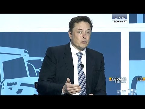 Elon Musk Talks Tesla and SpaceX