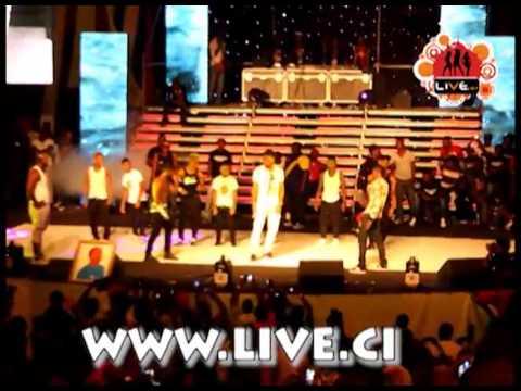 Didier Drogba au concert de Dj Arafat Commandant Zabra Yorobo   YouTube