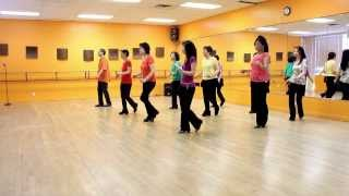 Burning Blue Line Dance (Dance & Teach In English & 中文