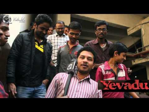 Yevadu-Audience-Feedback-At-Sandhya-Theater-RTC-X-Road