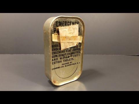 Човеков најде совршено сочувана војничка конзерва со храна од 1944-та и реши да ја проба