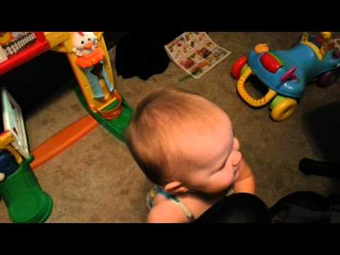 Dad Discovers A Surefire Way To Stop Her Crying