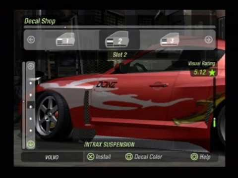 Need For Speed Underground 2 Tuning: Mazda Rx-8