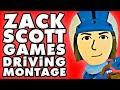 ZackScottGames Funny Driving Montage!