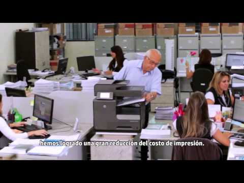 HP Officejet Pro X Customer Testimonial at Cruz Azul Saude, Brazil spl subt