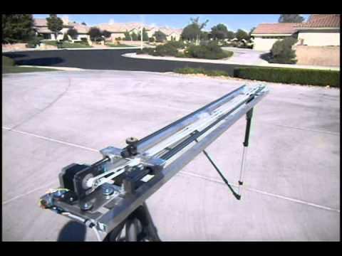 Homemade camera slider first arduino project youtube for Stepper motor camera slider