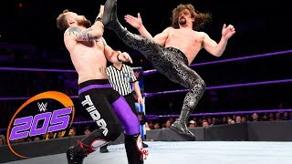 The Brian Kendrick & Gentleman Jack Gallagher vs. Local competitors: WWE 205 Live, April 17, 2018