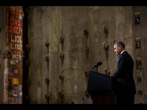 President Obama Speaks at 9/11 Museum Dedication