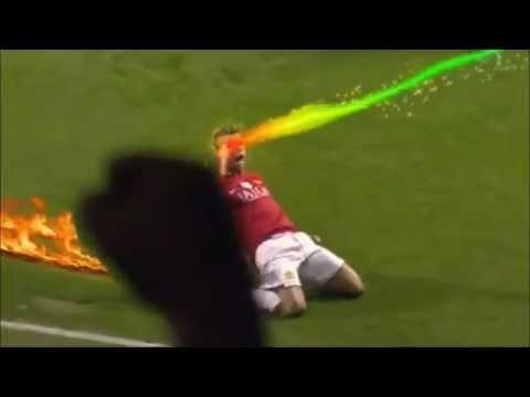 Clip 'chế' cách ăn mừng bàn thắng của siêu sao bóng đá