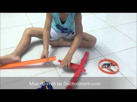 Đồ chơi trẻ em - Truy tìm kho báu Hot Wheels BCT35 (Chim Xinh)