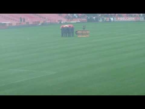Tu és o nosso rei, Eusébio. Homenagem dos No Name Cântico+Hino Benfica