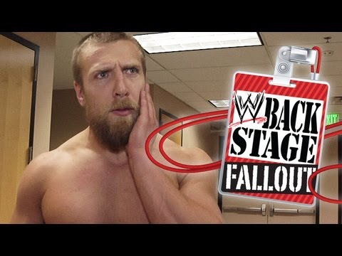 "Daniel Bryan feels AJ's 'love' - ""Backstage Fallout"" Raw - July 9, 2012"