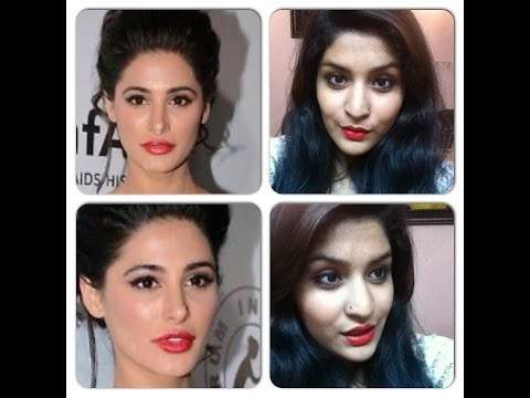 Nargis Fakhri inspired makeup for Farwell and Graduation