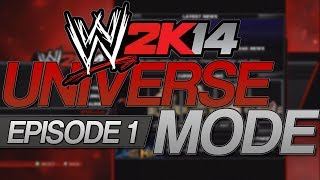 My WWE 2K14 Universe Mode - Episode 1