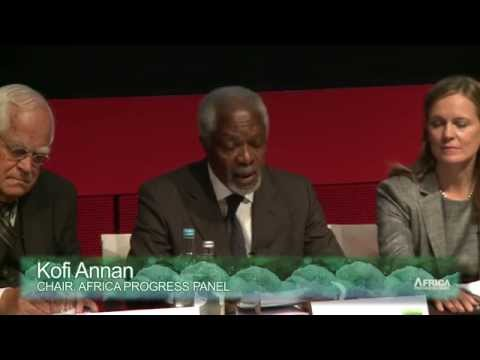 Kofi Annan launches the 2014 Africa Progress Report