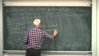MathHistory15: Complex numbers and algebra