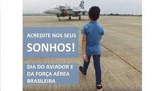 A Força Aérea Brasileira (FAB) produziu um vídeo em homenagem a sua principal data comemorativa. O produto transmite uma mensagem sobre a importância dos sonhos e a caminhada para realizá-los, mostrando a trajetória de um piloto em várias fases da vida.