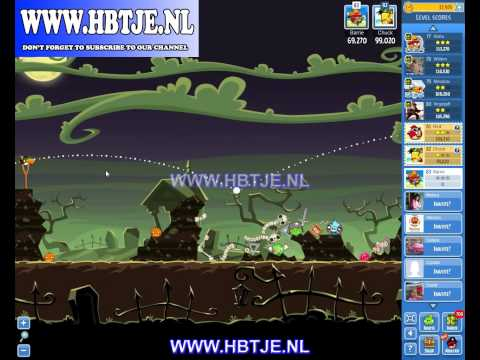 Angry Birds Friends Halloween Tournament Level 6 (Tournament 6) no power-ups