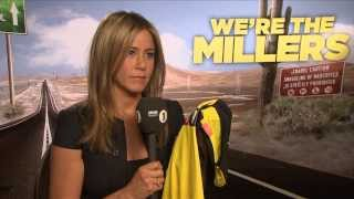 Jennifer Aniston Talks to Chris Stark off the Scott Mills Show