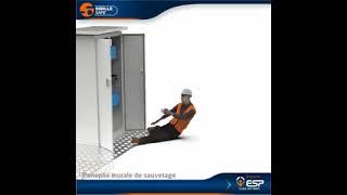 FAMECA PS2 - Panoplie murale de sauvetage animation
