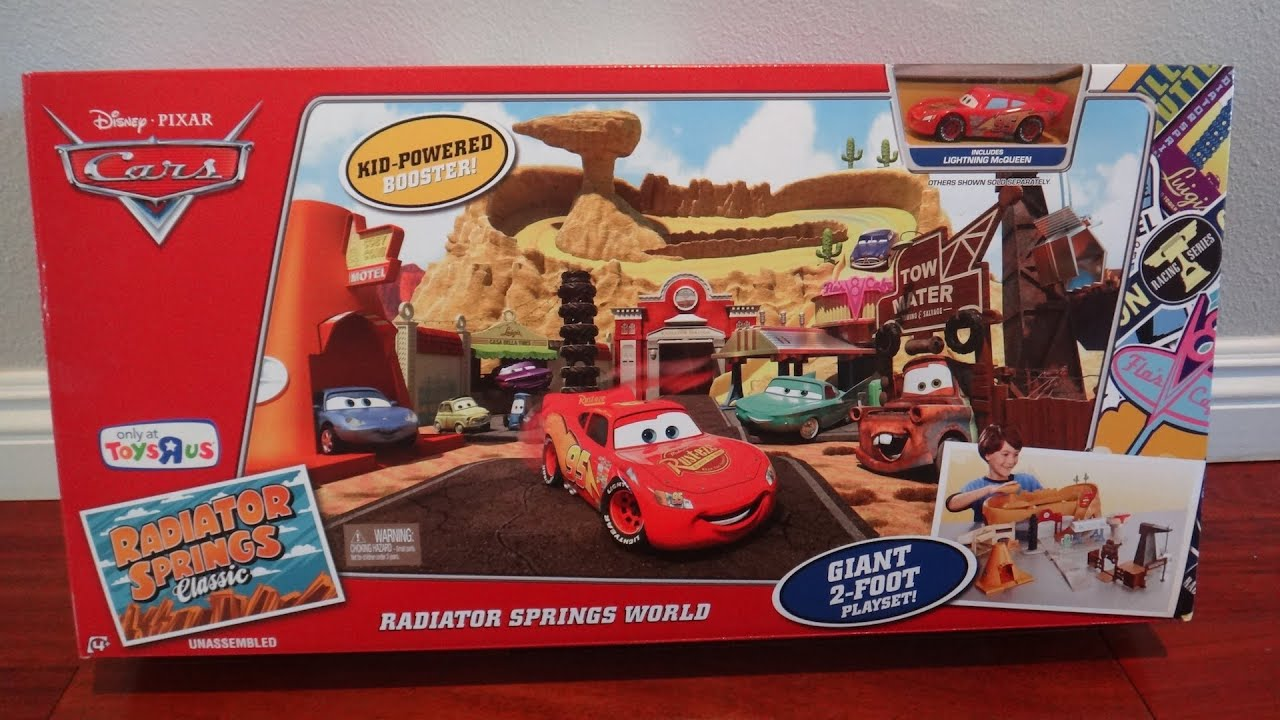 Disney Pixar Cars Radiator Springs World Play Set