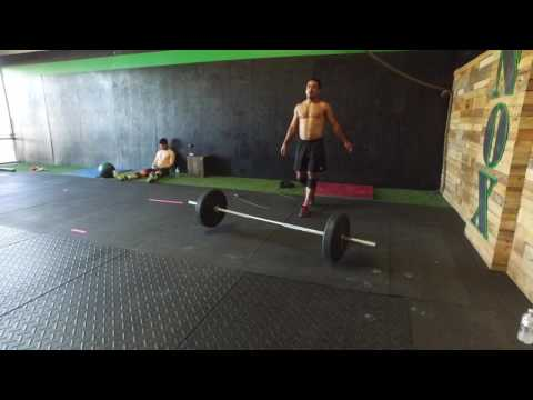 Training after CrossFit Open WOD 17.2