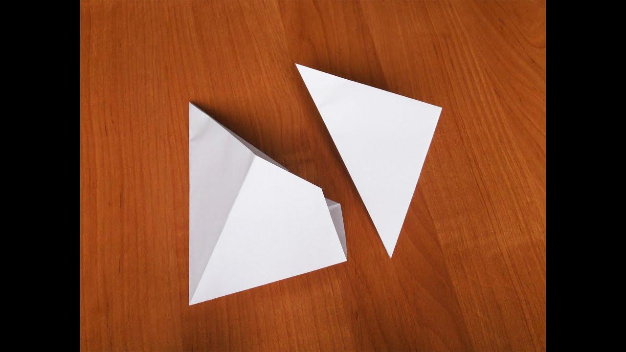 Как из бумаги сделать хлопушку тройную