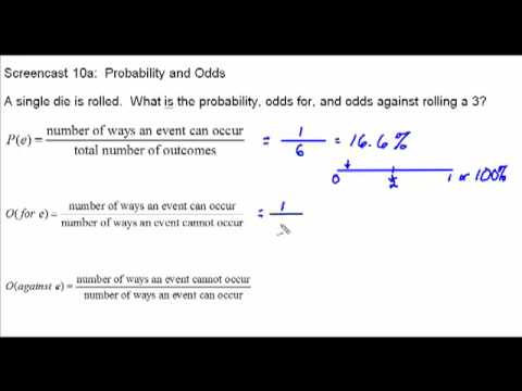 how to calculate probability and odds