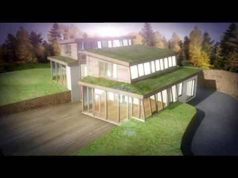 Projekt 3D domu energooszczędnego
